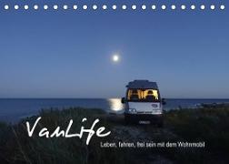 Cover-Bild zu Vanlife - Leben, fahren, frei sein mit dem Wohnmobil (Tischkalender 2022 DIN A5 quer) von Flachmann, Susanne