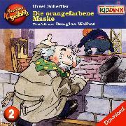 Cover-Bild zu Kommissar Kugelblitz - Die orangefarbene Maske (Audio Download) von Scheffler, Ursel