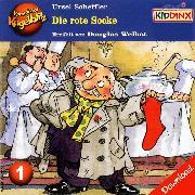 Cover-Bild zu Kommissar Kugelblitz - Die rote Socke (Audio Download) von Scheffler, Ursel