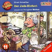 Cover-Bild zu Kommissar Kugelblitz - Der Jade-Elefant (Audio Download) von Scheffler, Ursel