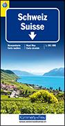 Schweiz TCS 2021 Strassenkarte. 1:301'000 von Hallwag Kümmerly+Frey AG (Hrsg.)