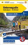 Unterengadin Nr. 14 Wanderkarte 1:60 000. 1:60'000 von Hallwag Kümmerly+Frey AG (Hrsg.)
