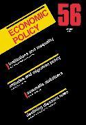 Cover-Bild zu Economic Policy 56 (eBook) von De Menil, Georges (Hrsg.)