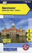Cover-Bild zu Hannover, Steinhuder Meer, Deister. 1:50'000 von Hallwag Kümmerly+Frey AG (Hrsg.)