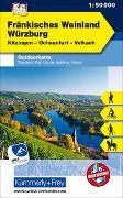 Cover-Bild zu Fränkisches Weinland Würzburg Nr. 56 Outdoorkarte Deutschland 1:50 000. 1:50'000 von Hallwag Kümmerly+Frey AG (Hrsg.)