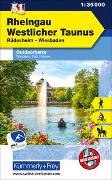 Cover-Bild zu Rheingau, Westlicher Taunus Nr. 51, Outdoor Deutschland, 1:35 000. 1:35'000 von Hallwag Kümmerly+Frey AG (Hrsg.)