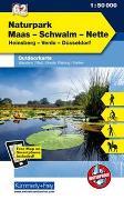 Cover-Bild zu Naturpark Maas, Schwalm, Nette, Nr. 62 Outdoorkarte Deutschland 1:50 000. 1:50'000 von Hallwag Kümmerly+Frey AG (Hrsg.)