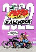 Cover-Bild zu Aue, Holger: MOTOmania Kalender 2022: Monatskalender für die Wand im Großformat