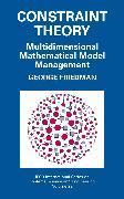 Cover-Bild zu Constraint Theory (eBook) von Friedman, George J.