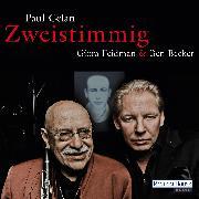 "Cover-Bild zu Celan, Paul: Giora Feidman & Ben Becker - ""Zweistimmig"" (Audio Download)"