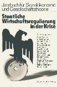 Cover-Bild zu Staatliche Wirtschaftsregulierung in der Krise (eBook) von Beutler, Peter