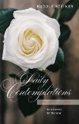 Cover-Bild zu Daily Contemplations (eBook) von Steiner, Rudolf