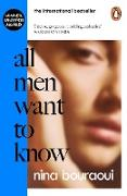 Cover-Bild zu All Men Want to Know (eBook) von Bouraoui, Nina