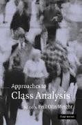 Cover-Bild zu Wright, Erik Olin (Hrsg.): Approaches to Class Analysis