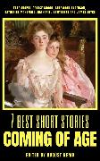 Cover-Bild zu 7 best short stories - Coming of Age (eBook) von Hawthorne, Nathaniel