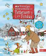 Wimmeliges Weihnachtsfest mit Pettersson und Findus von Nordqvist, Sven