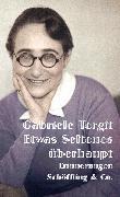 Cover-Bild zu Etwas Seltenes überhaupt (eBook) von Tergit, Gabriele