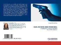 Cover-Bild zu Brown Cross, Amanda: GUN ACCESS AND FEMICIDE