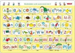 Cover-Bild zu Fragenbär-Mini-Lernposter: Buchstaben und Laute von A bis Z von Fels, Bengt