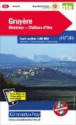 Cover-Bild zu Greyerzerland Montreux Château-d'Oex Nr. 15 Velokarte 1:60 000. 1:60'000 von Hallwag Kümmerly+Frey AG (Hrsg.)