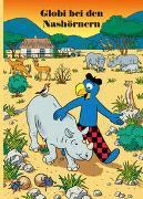 Cover-Bild zu Globi bei den Nashörnern von Lendenmann, Jürg