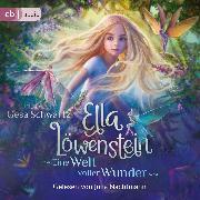 Cover-Bild zu Ella Löwenstein - Eine Welt voller Wunder (Audio Download) von Schwartz, Gesa