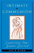 Cover-Bild zu Intimate Communion von Deida, David