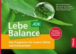 Cover-Bild zu Lebe Balance von Bohus, Martin