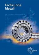 Fachkunde Metall von Burmester, Jürgen