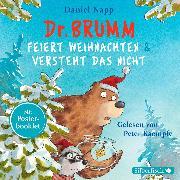 Cover-Bild zu Dr. Brumm feiert Weihnachten / Dr. Brumm versteht das nicht (Audio Download) von Napp, Daniel