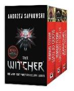 Cover-Bild zu The Witcher Boxed Set: Blood of Elves, the Time of Contempt, Baptism of Fire von Sapkowski, Andrzej