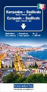 Kampanien - Basilicata. 1:200'000 von Hallwag Kümmerly+Frey AG (Hrsg.)