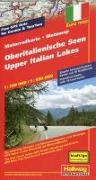 Oberitalienische Seen MotoMap Motorradkarte 1:250 000 / 1:650 000. 1:275'000 von Hallwag Kümmerly+Frey AG (Hrsg.)
