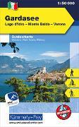 Gardasee Nr. 07 Outdoorkarte Italien 1:50 000. 1:50'000 von Hallwag Kümmerly+Frey AG (Hrsg.)