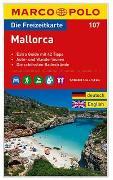 MARCO POLO Freizeitkarte Blatt 107 Mallorca 1:120 000. 1:120'000
