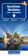 Nordrhein Westfalen, Köln-Ruhrgebiet, Nr. 03 Regionalkarte Deutschland 1:275 000. 1:275'000 von Hallwag Kümmerly+Frey AG (Hrsg.)