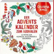 Colorful Christmas - Der Adventskalender zum Ausmalen von Schwab, Ursula