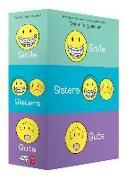 Cover-Bild zu Telgemeier, Raina: Smile, Sisters, and Guts: The Box Set