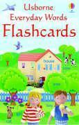 Cover-Bild zu Everyday Words English Flashcards von Brooks, Felicity