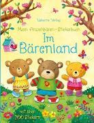 Cover-Bild zu Mein Anziehbären-Stickerbuch: Im Bärenland von Brooks, Felicity