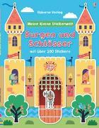 Cover-Bild zu Meine kleine Stickerwelt: Burgen und Schlösser von Brooks, Felicity