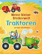 Cover-Bild zu Mein kleine Stickerwelt: Traktoren von Brooks, Felicity