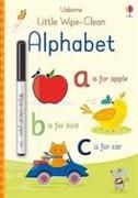 Cover-Bild zu Little Wipe-Clean Alphabet von Brooks, Felicity