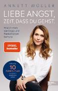 Cover-Bild zu Liebe Angst, Zeit, dass du gehst von Möller, Annett