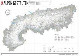 Alpen Gestalten - Edition 2. 1:1'000'000 von Spiegel, Stefan