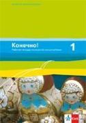 Konetschno! Band 1. Russisch als 2. Fremdsprache. Arbeitsheft