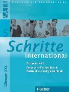 Schritte international 5. Glossar XXL Deutsch-Tschechisch von Hilpert, Silke