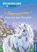 Cover-Bild zu Sternenschweif, Bücherhelden 2. Klasse, Fest auf dem Ponyhof von Chapman, Linda