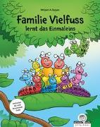 Cover-Bild zu Familie Vielfuss lernt das Einmaleins von Gygax, Mirjam