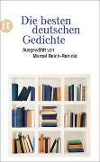 Cover-Bild zu Die besten deutschen Gedichte von Reich-Ranicki, Marcel (Hrsg.)